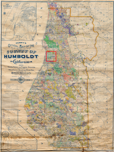 42 Line Projects Humbolt State University Rare Wall Maps